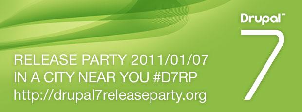 Une Drupal 7 Release Party près de chez vous