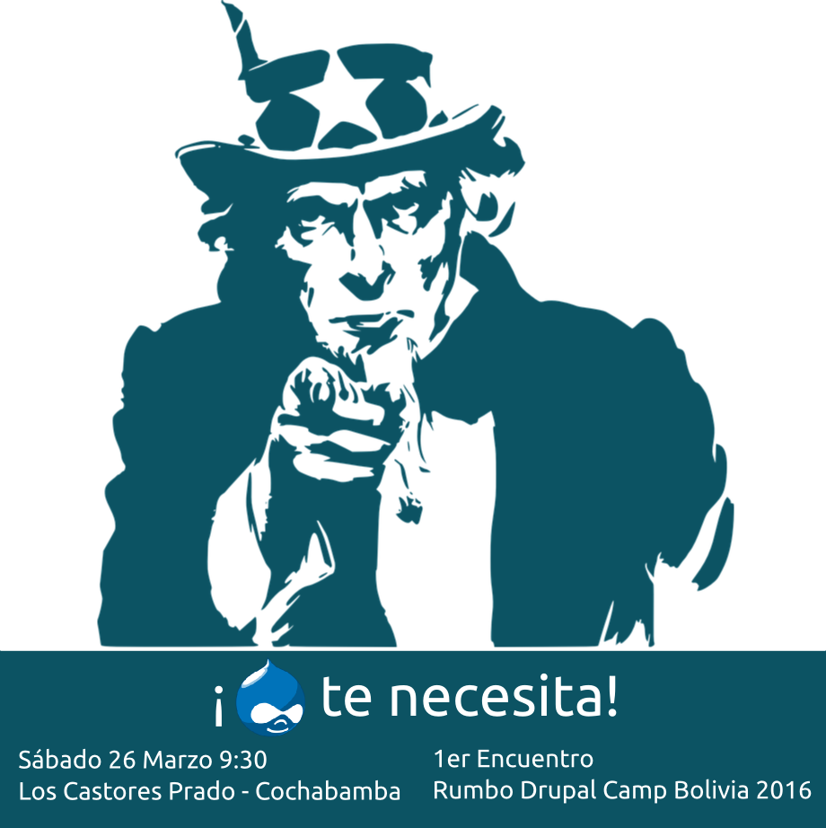 DrupalCamp Bolivia Call