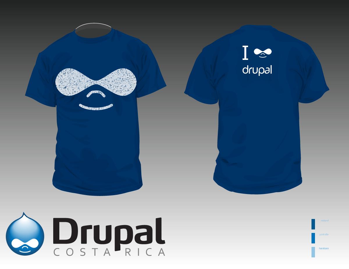 Propuestas De Diseos Para Las Camisas Drupal Groups