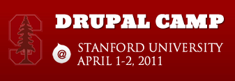 Drupal Camp at Stanford University April 1-2