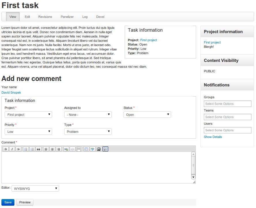 Work tracker for Open Atrium 2.0! | Drupal Groups