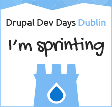 I am sprinting at Drupal Developer Days Dublin