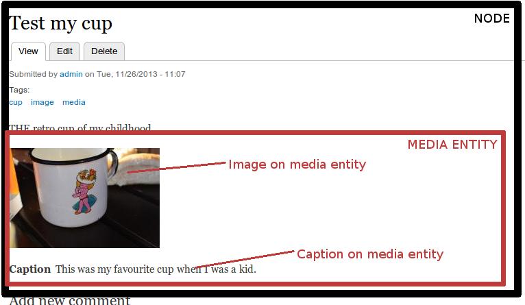 Media entity example