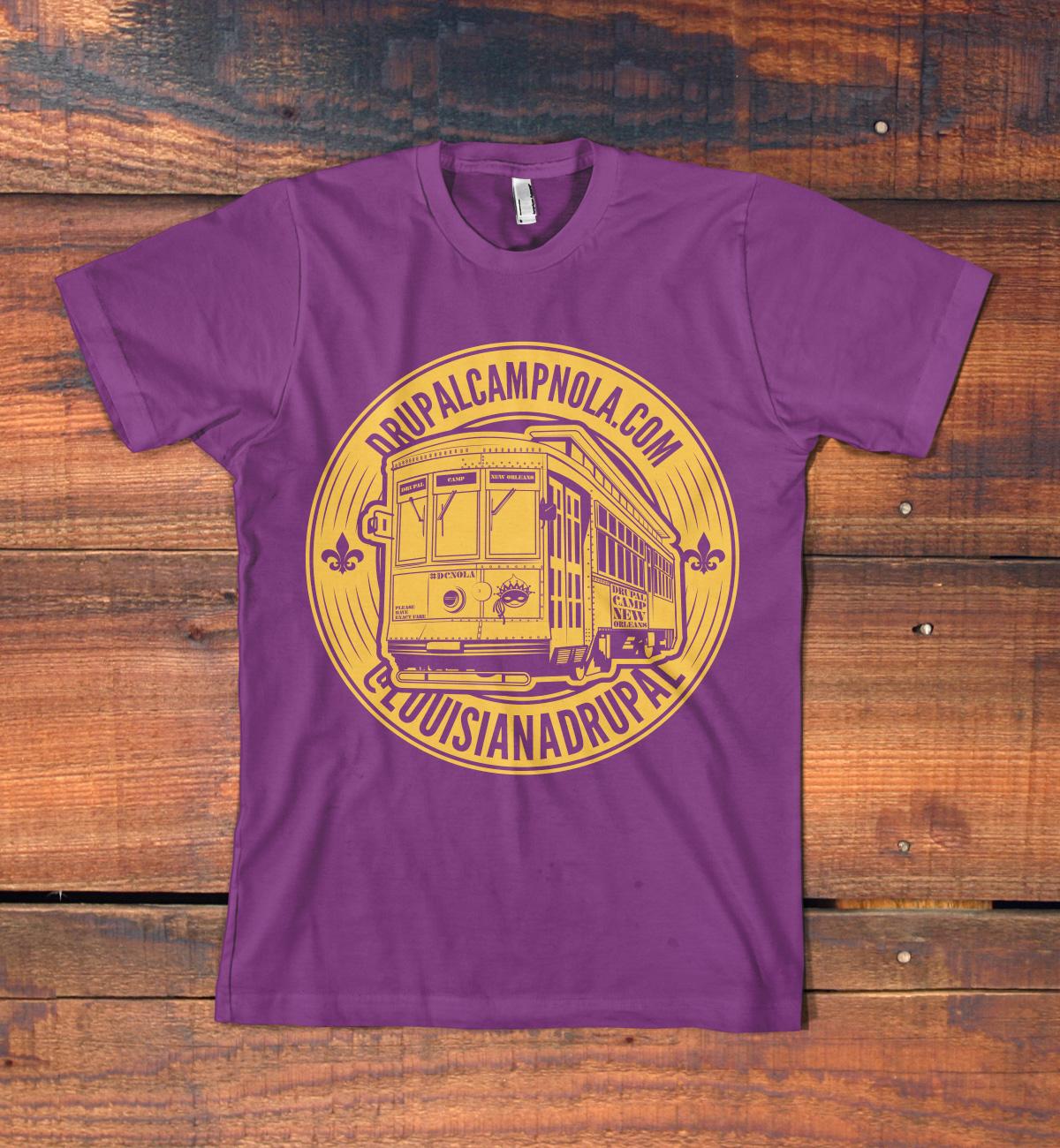 T shirt designs for drupalcamp new orleans drupal groups for T shirt printing new orleans