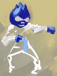 kung-fu droop by Squidster