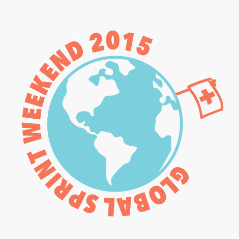 Drupal Global Sprint Weekend Zurich 2015 Logo by Andrew McClintock