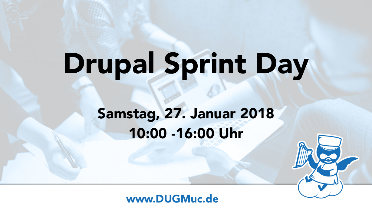 Drupal Sprint Day Teaser