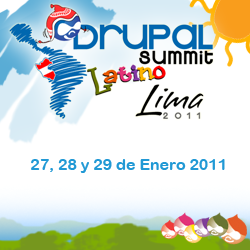Drupal Summit Latino - Lima 2011