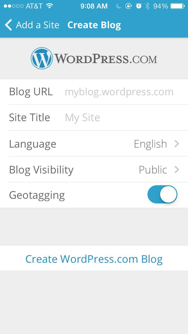 Mobile Cms Screen Shots Of Wordpress On Iphone 5s Drupal Groups