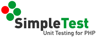 SimpleTest Unit Testing for PHP logo