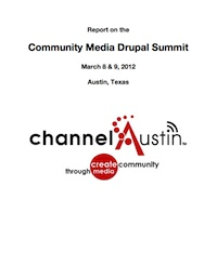 Report on Community Media Drupal Summit
